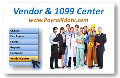 1099 Payroll Software.