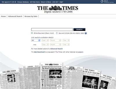 Times Digital Archive