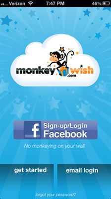 MonkeyWish.com Mobile App