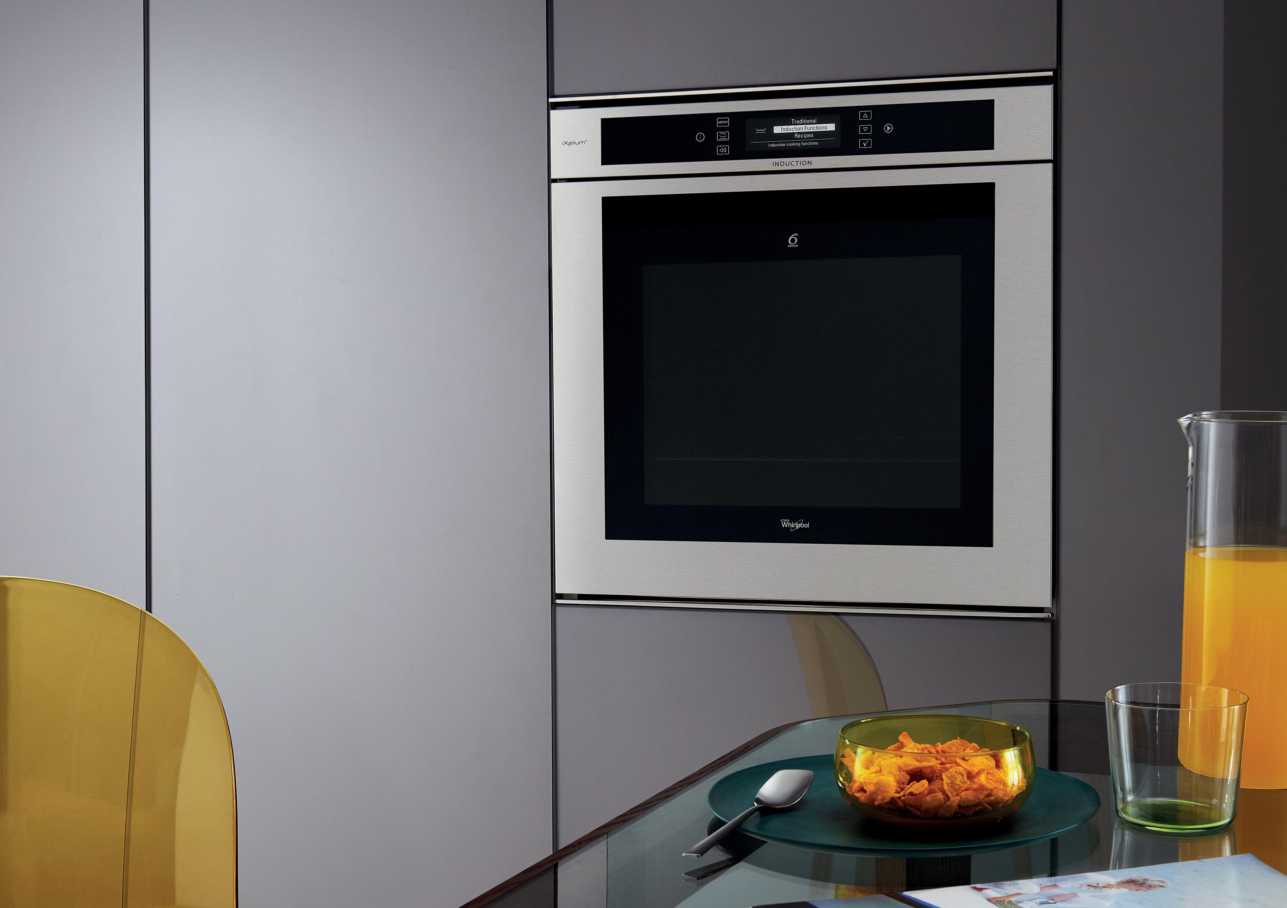 Bi induction oven ixelium 3 1 whirlpool for Forno whirlpool ixelium