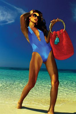 Hobo Beach Bag in Chayenne Lookbook