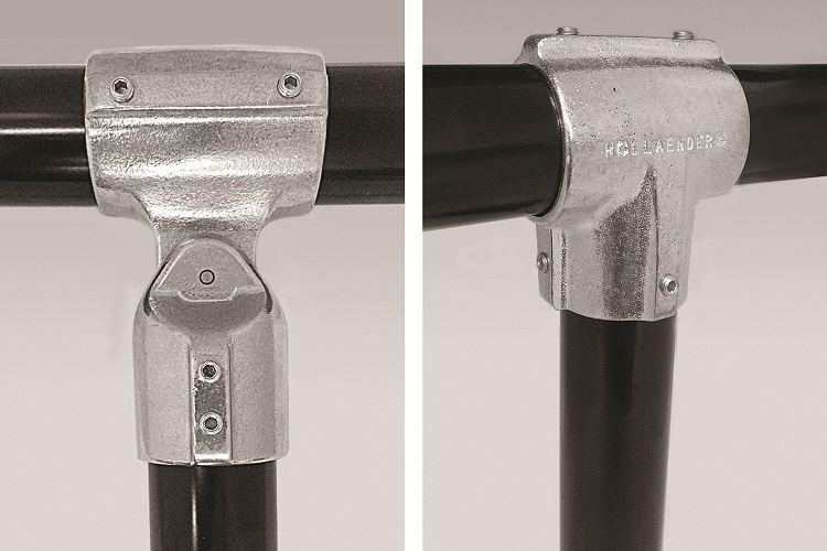 New speed rail fittings from hollaender hold solar pipe