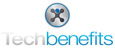 TechBenefits Logo Dark BG - Centered