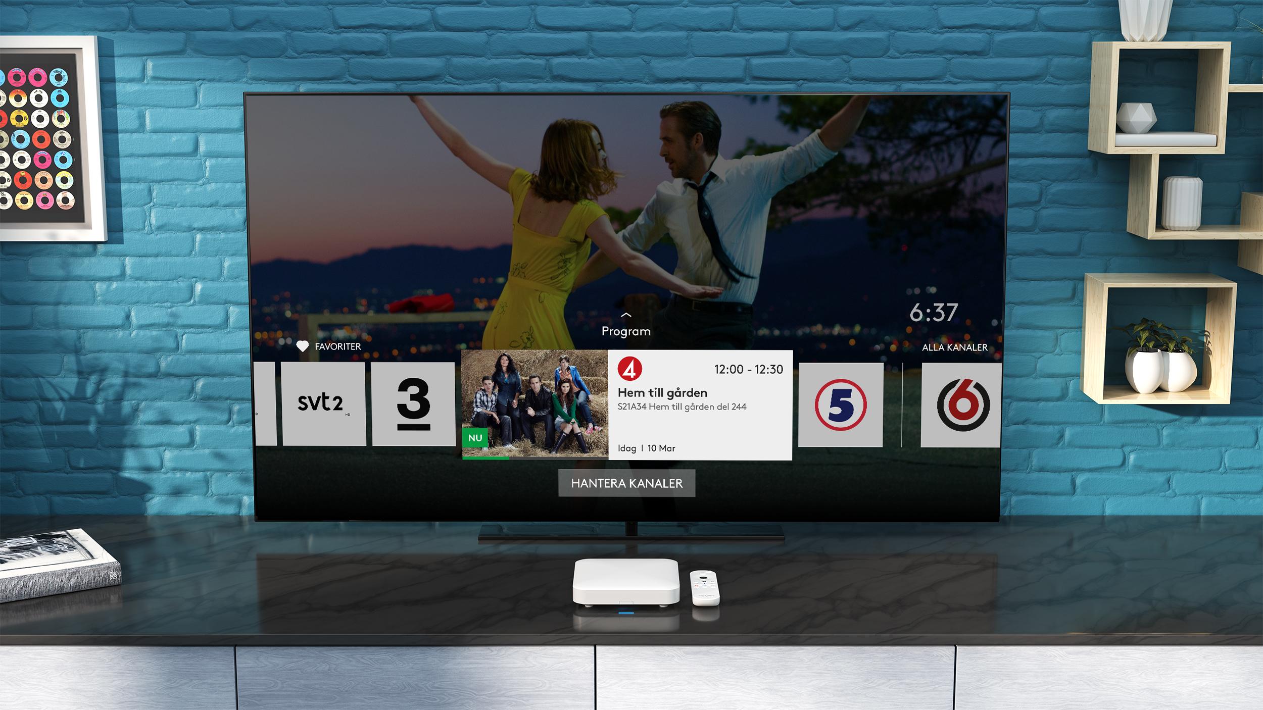 Breakit - Com Hem och Boxer lanserar Tv hub – en plattform baserad på Android TV