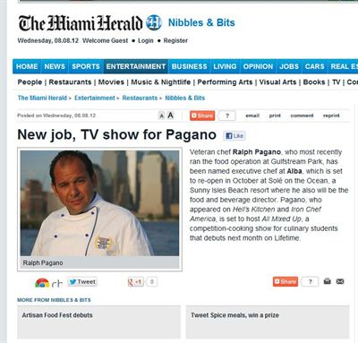 All Mixed Up in Miami Herald August 8