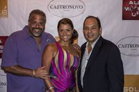 Monica and Anthony Mongiello with Ralph Pagano