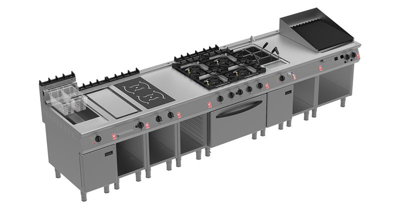 Falcon f900 setting the standard for professional catering equipment falcon foodservice Commercial kitchen design cost