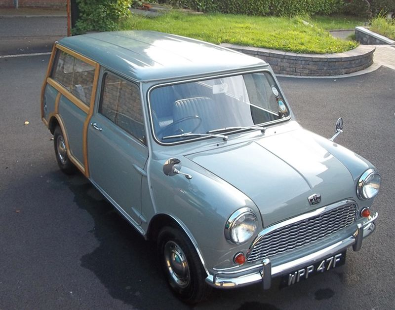 1967 austin mini countryman wood crop silverstone auctions. Black Bedroom Furniture Sets. Home Design Ideas