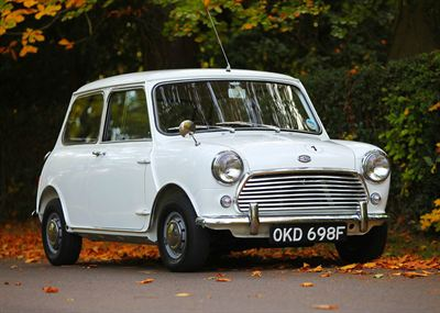 1968 Morris Mini Police Cooper S