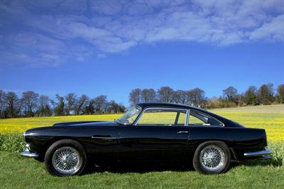 1960 Aston Martin DB4 Series II Side