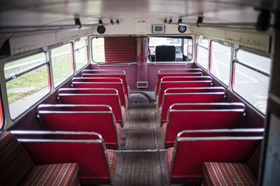 1962 Leyland Routemaster bottom deck seats