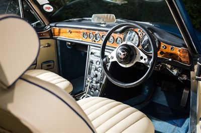 1967 Alvis Burns Special interior