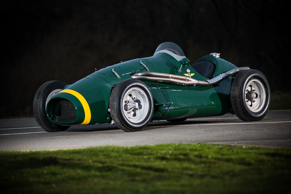Historic Open Wheel Race Car For Sale
