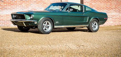 1968 Ford Mustang Bullitt Genuine 390 S Code and Highland green car