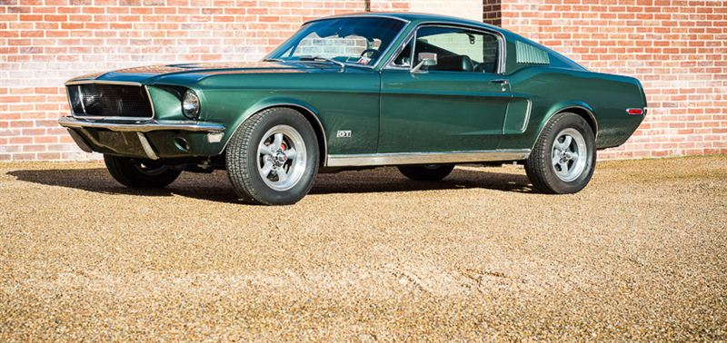 1968 Ford Mustang Bullitt Genuine 390 S Code And Highland