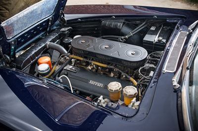 1964 Ferrari 330GT engine