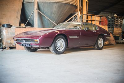 1968 Maserati Ghibli-Barn find