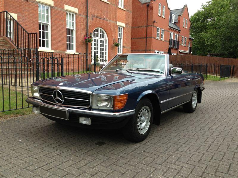 1981 mercedes benz sl 280sl ex roger daltrey for Who owns mercedes benz now