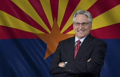Fred DuVal Arizona flag