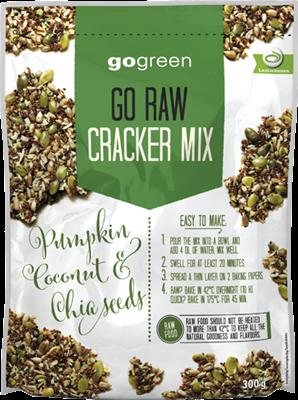 Go Raw Cracker Mix Gogreen