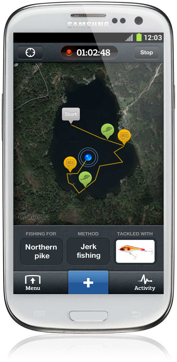 Android log fishbrain for Fish brain app