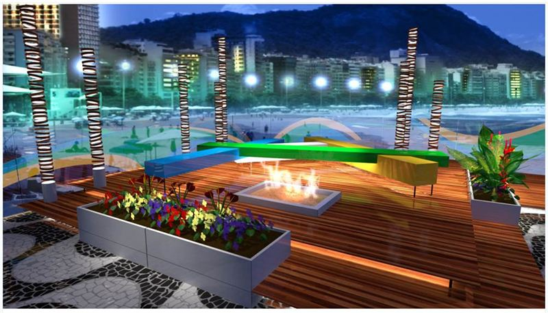 June 14 2016 Nbc Olympics Today Unveiled The Set Design For S Daytime And Late Night Studio Which Will Be Located On Rio De Janeiro Iconic
