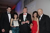 Vaillant - the Whitco team with the CEDA Grand Prix Award