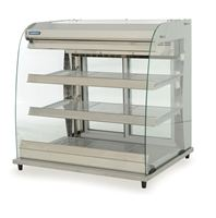 Moffat heated multi-tier counter top Grab and Go display unit