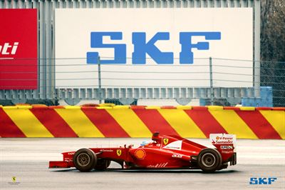 2012 Scuderia Ferrari official supplier billboard high res