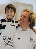Matt Jackson with celebrity chef Alex MacKay