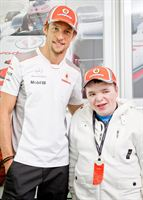 Matthew Hawthorne with Jenson Button