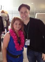 Olly Murs with Lucy McCloy