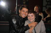 Joey Essex with Hayley Stroud