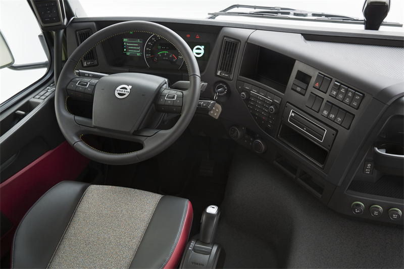 The interior of the new Volvo FMX - Volvo Trucks