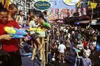 Bangkok Songkran Water Fight 3