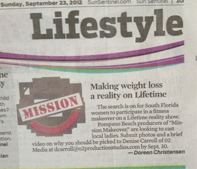 Sun Sentinel Sunday September 24th