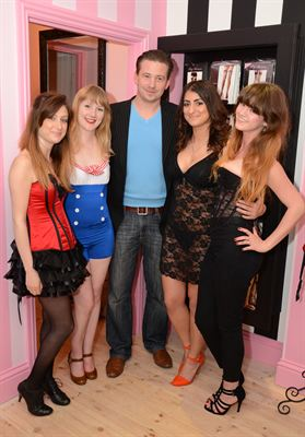 Karl Lubieniecki, Founder or provocativepleasures.co.uk, with guests 170513