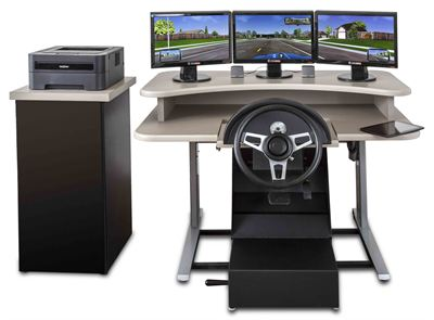DriveSafety's new entry-level Clinical Driving Simulator — the CDS-200