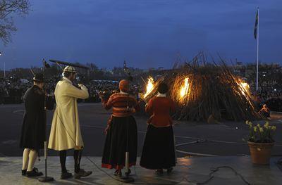 Walpurgis night 30th of April - Skansen