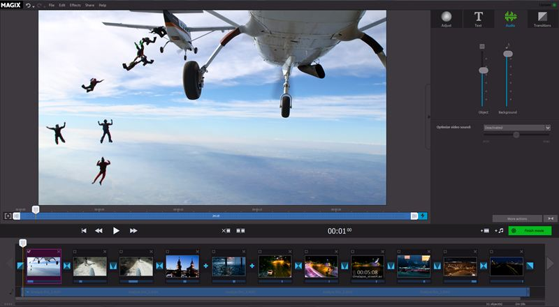 NEW! MAGIX Fastcut – Straight to the Action Video Editing Optimized ...