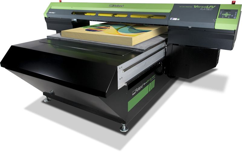 Roland Dga Launches Industrial Strength Flatbed Uv Printer