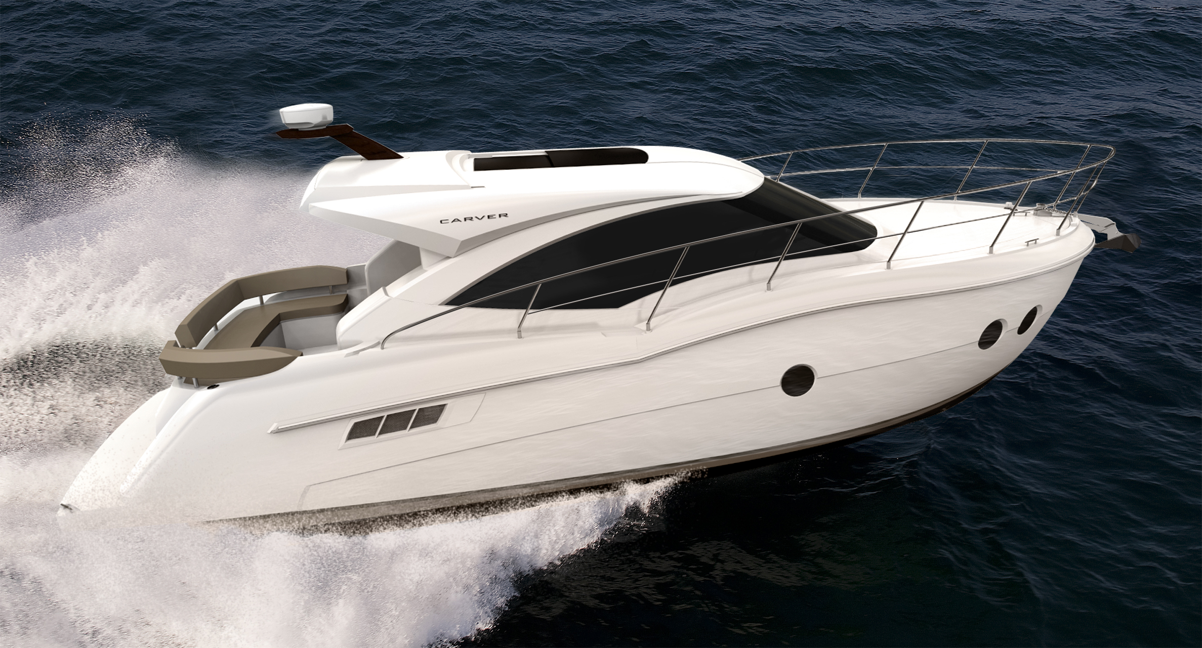Carver C37 - Carver Yachts