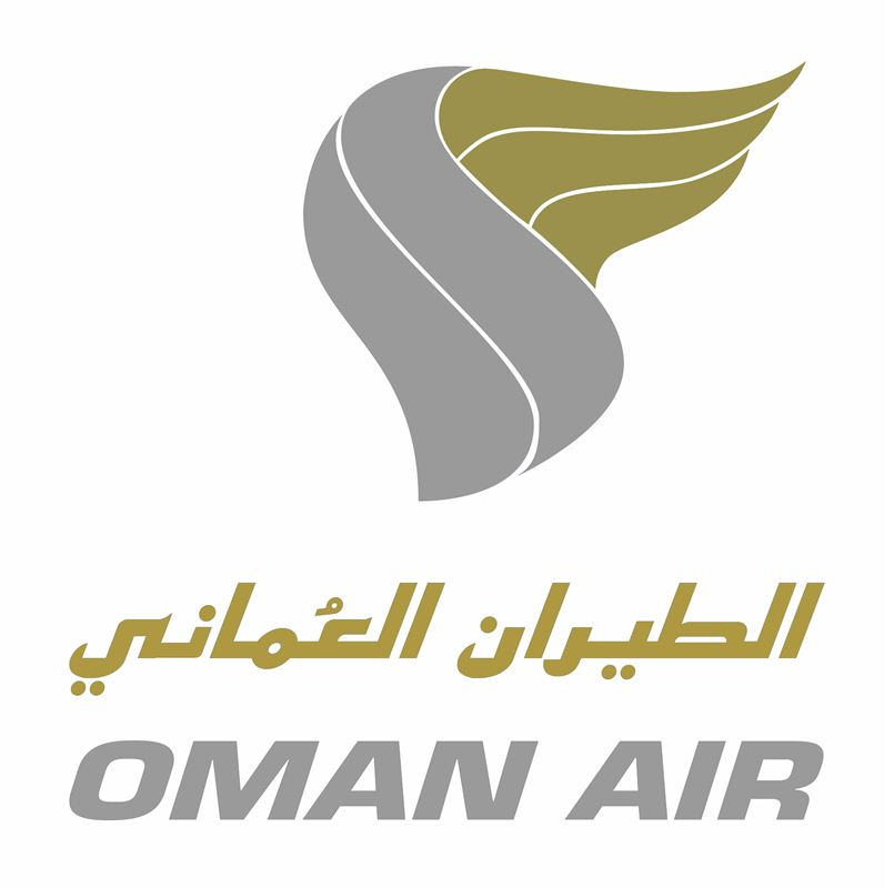 Oman Air logo- White lr - Black Sheep PR
