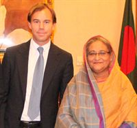 Karl-Johan Persson meets Prime Minister of Bangladesh 1