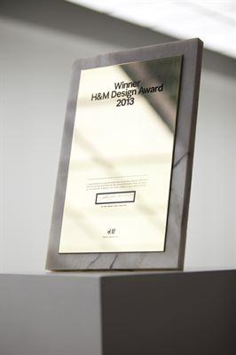 H&M Design Award 2013 - finalists announced
