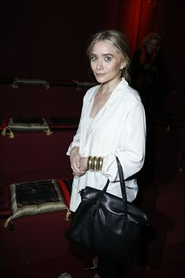 H&M Fashion show - Ashley Olsen wearing H&M