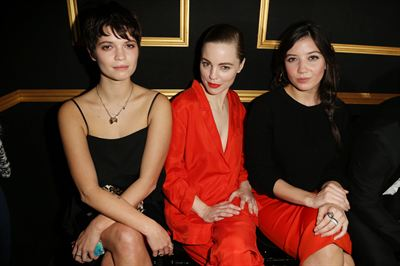 H&M Fashion show - Pixie Geldof, Melissa George and Daisy Lowe wearing H&M