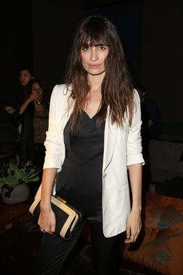 H&M Fashion show - Caroline de Maigret wearing H&M Conscious Exclusive