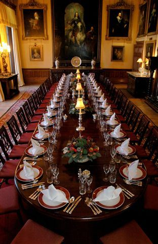enjoy a private lunch in the magnificent dining room at highclere