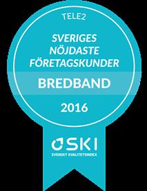 SKI Kund 2016 - Bredband B2B